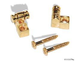 Paire de Guides Cordes Roller Gotoh String Retainer Gold Strat Tele