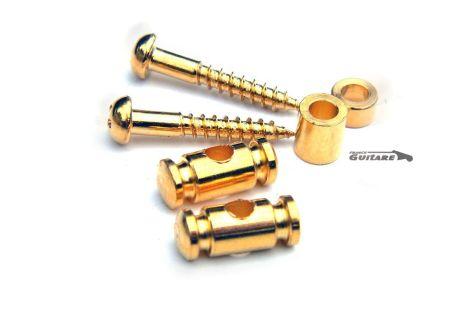 Paire de guides cordes Gotoh Cylindrique Strat Gold