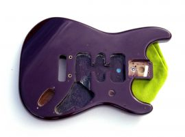Corps Fender Stratocaster American Deluxe Midnight Deep Purple Violet