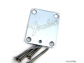 Plaque Manche Fender® Stratocaster et Telecaster Logo 90s USA