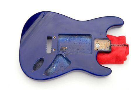 Corps Fender American Strat Plus Standard Imperial Blue 1992