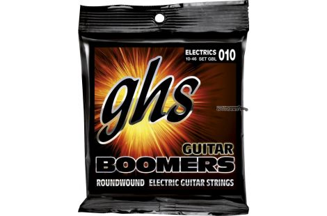 Cordes guitare GHS Boomers light 10-46