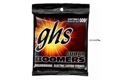 Cordes pour guitare GHS Boomers Roundwound 09-46