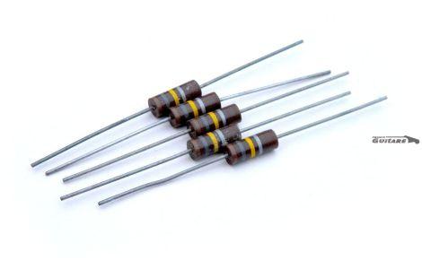 Lot de 5 résistances Hamilton Carbon Composition 180Kohms 1watt NOS