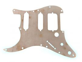 Plaque Cuivre Conductrice isolante Faraday Pickguard Stratocaster HSS