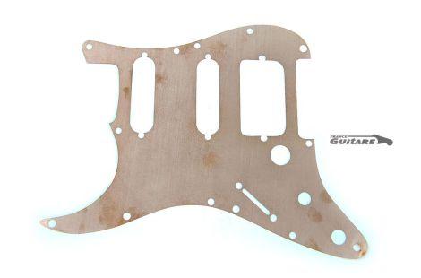 Plaque Cuivre isolante Universelle Pickguard Stratocaster HSS