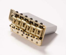 Bloc Tremolo Assembly Fender Stratocaster Deluxe Player Gold