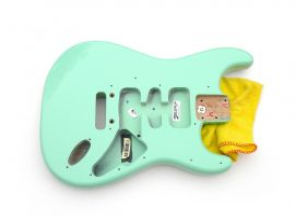 Corps Fender Stratocaster USA Artist Jeff Beck Alder Surf Green 2013