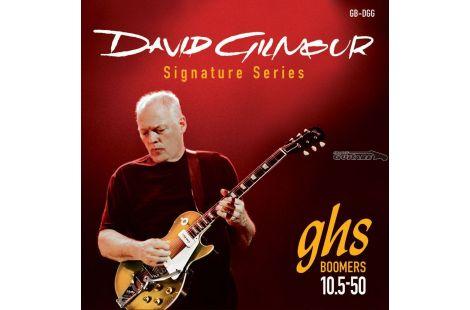 Cordes Guitare GHS David Gilmour Roundwound 10/5/50