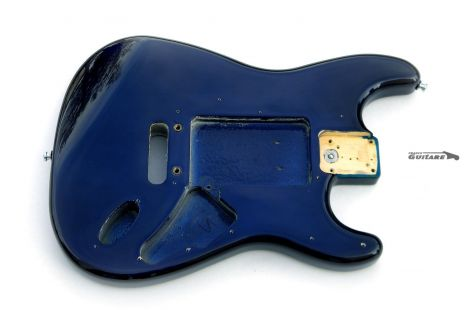 Corps Fender American Strat Plus Deluxe USA Aulne Midnight Blue 1989
