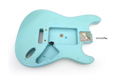Corps Fender American Strat Plus USA Aulne Sonic Daphne Blue 1996