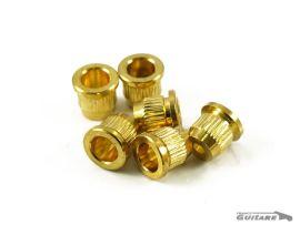 Vintage String Bushing Ferrules Gold pour corps de Telecaster