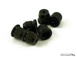 Vintage String Bushing Ferrules finition black pour corps Telecaster