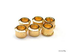 Bagues Bushing Gold Adaptateur 9,6mm pour vintage tuners Gotoh Kluson