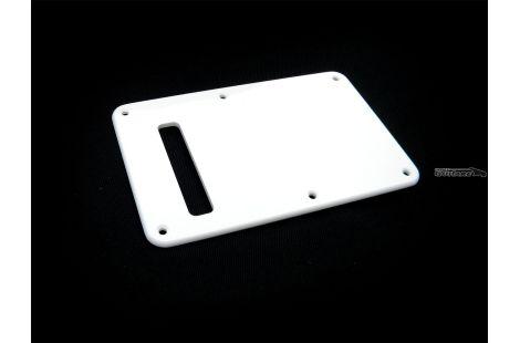 Stratocaster plaque cache tremolo vinyle blanc Gilmour single slot