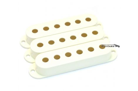 Capots Couvre Micros Stratocaster Standard parchment white