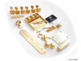 Kit Hardware complet Telecaster vintage Accastillage Gold style 60s