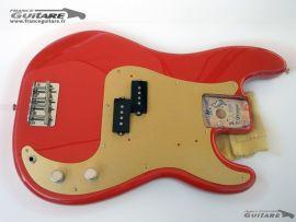 Corps Assemblé Fender Precision Bass Classic Series 50s Fiesta Red