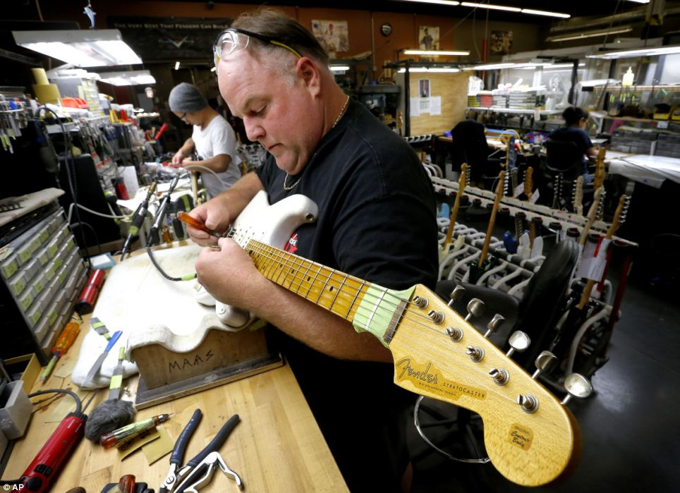 fender usine custom shop