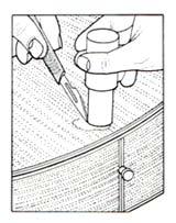 baton de gomme laque
