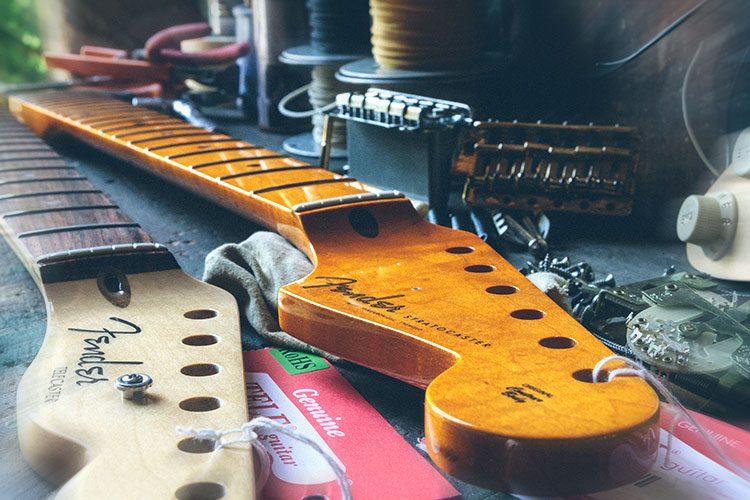 reglage manche Fender
