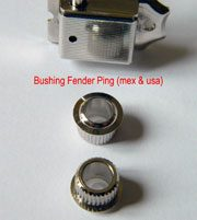 bagues bushing vintage fender