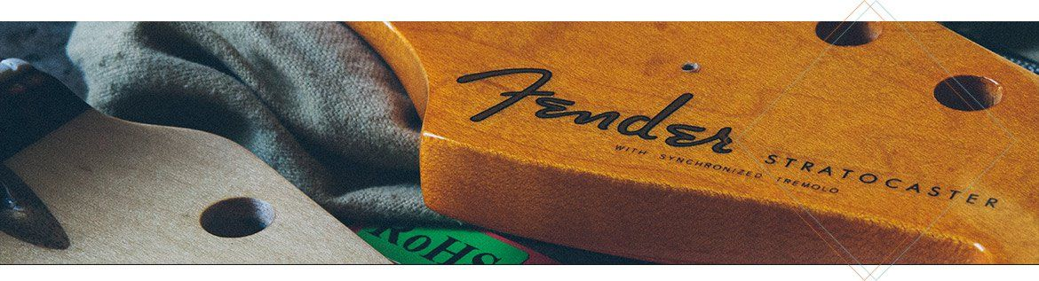 Manches Allparts Licence Fender