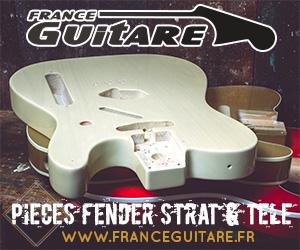 nouveautés pièces Fender stratocaster