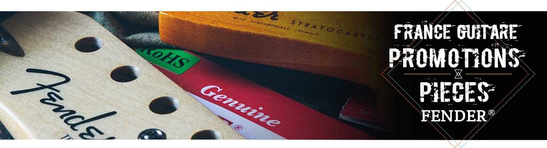 promotions Fender Strat et Tele
