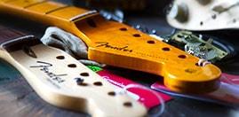 Manche guitare Fender stratocaster