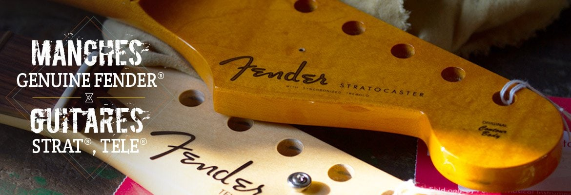 manches d'origine genuine fender stratocaster
