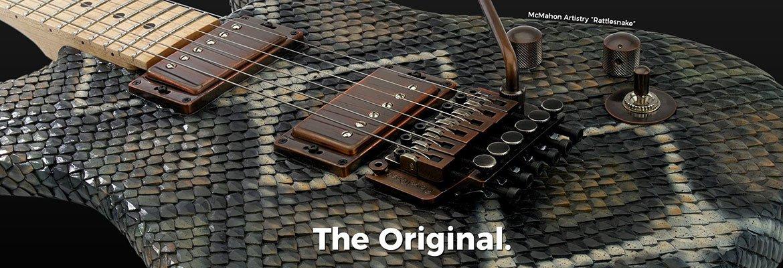 Vibratos et tremolos Floyd Rose Original et licence Floyd